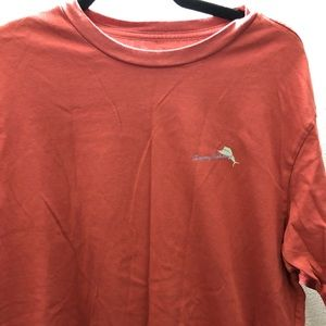 Tommy Bahama Shirts - Tommy Bahama Flock This Way Red Relax Shirt